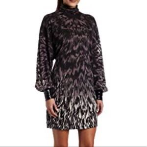 French connection animal instinct mini dress